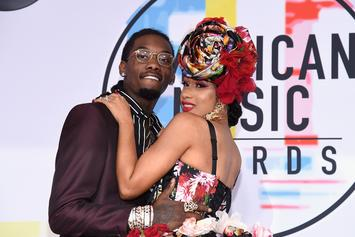 "Offset's ""Ridin' With"" His Wife When It Comes To Politics, All For Bernie Sanders"