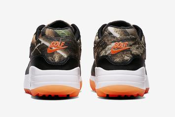 "Nike Air Max 1 Golf Shoe Brings ""Realtree Camo"" To The Course: Official Photos"