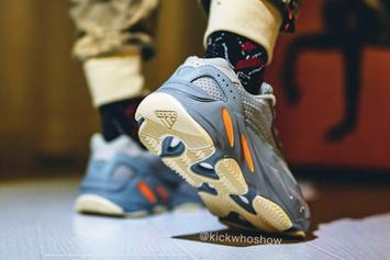 """Adidas Yeezy Boost 700 V2 """"Inertia"""" Coming Soon: On-Foot Images Revealed"""