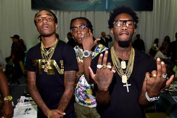"Offset Reminds The Forgetful That Migos Are ""BEST GROUP ALIVE"""