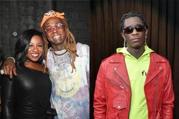 """Lil Wayne's Daughter Responds To Young Thug: """"No Clout Chasing"""""""
