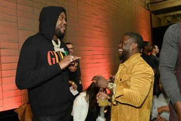 Meek Mill Roasts Kevin Hart For His Underwear Model Pic