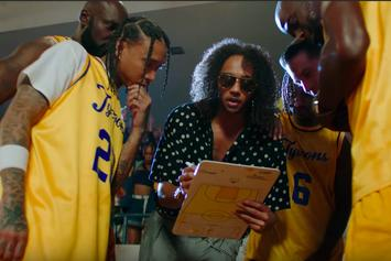 """G-Eazy & Tyga Hit The Basketball Court In New """"Bang"""" Video"""