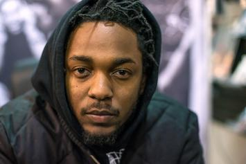 Kendrick Lamar Shows Off Nice Hands In Boxing Ring