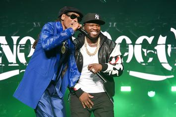 """50 Cent Thinks Snoop Dogg Looks Like Him: """"My Twin Brother From Long Beach"""""""