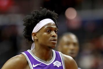 De'Aaron Fox Gets Secretive When Asked Why He Left Team USA: Watch