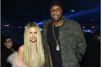 "Khloé Kardashian Thinks Lamar Odom Is ""Courageous"" For Detailing Addictions"