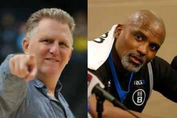 Michael Rapaport Works Cuttino Mobley's Nerves During Awkward BIG3 Moment