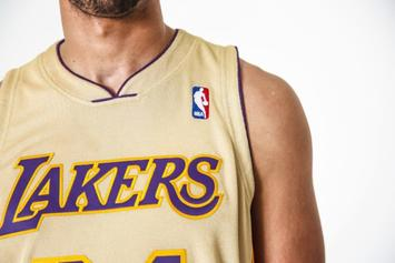 Mitchell & Ness Release Exclusive Gold Kobe Bryant Jersey