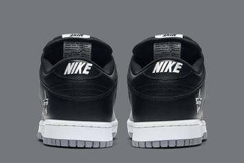 """Supreme x Nike SB Dunk Low """"Metallic Silver"""" Coming Soon: Official Images"""