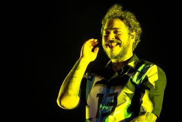 """Post Malone Reveals Album Cover For """"Hollywood's Bleeding"""""""