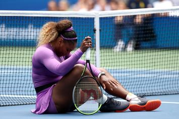 Serena Williams Injures Right Ankle In Fourth Round U.S. Open Win