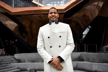 Carmelo Anthony Comments On Kyrie Irving & KD Nets Rumors