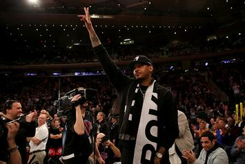 "Carmelo Anthony's Reps ""Aggressively"" Fighting Negative Perceptions: Report"