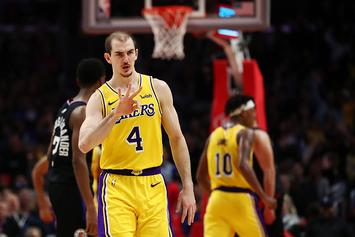 """Lakers' Alex Caruso """"Randomly"""" Drug Tested After Weight Room Pics Surface"""