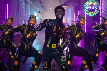 "Lil Nas X's ""Panini"" Video Is A Futuristic Wonderland"