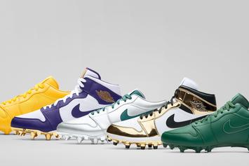 Jordan Brand Unveils Air Jordan 1 PEs For Le'Veon Bell, Michael Thomas & Others