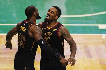 "JR Smith Goes ""Sicko Mode"" In Workout With LeBron James: Watch"