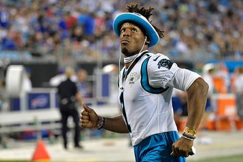Cam Newton Sets Record For Most One-Handed Catches In A Minute: Watch
