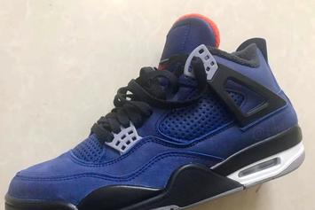 Air Jordan 4 Winterized Colorway Pulls Elements From Eminem's Collab