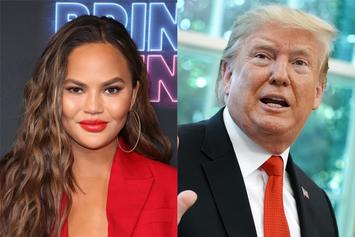 """Chrissy Teigen Claps Back After Trump Calls Her John Legend's """"Filthy Mouthed Wife"""""""