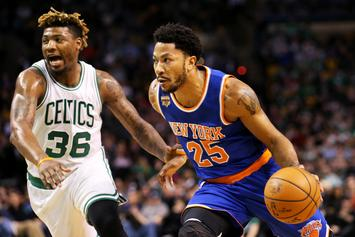 Derrick Rose Reveals What Led To Sudden Knicks Departure In 2017