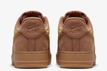 "Nike Air Force 1 Low ""Wheat"" Returns For The Fall: Official Images"