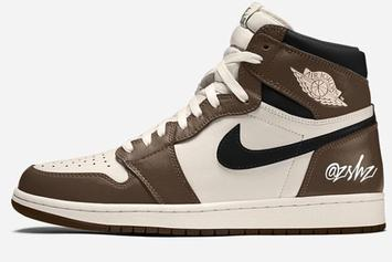 "Air Jordan 1 High OG ""Dark Mocha"" Brings Travis Scott Vibes: Release Rumors"
