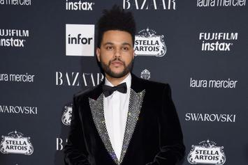 The Weeknd Debuts New Look On Toronto Film Festival Red Carpet