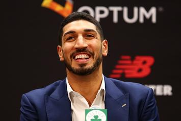Celtics' Enes Kanter Wins WWE 24/7 Title At MSG, Trolls Knicks Fans: Video
