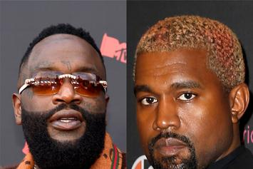 "Kanye West Made Rick Ross Rewrite ""Devil In A New Dress"" Verse At The Last Minute"