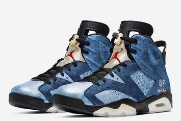"Air Jordan 6 Releasing In ""Washed Denim"" Design This Holiday Season"