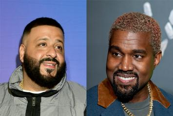 Kanye West Gifts DJ Khaled With Unreleased Yeezys Directly Off His Feet