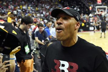 "LaVar Ball Angrily Calls Lonzo ""Damaged Goods"" During Argument: Watch"