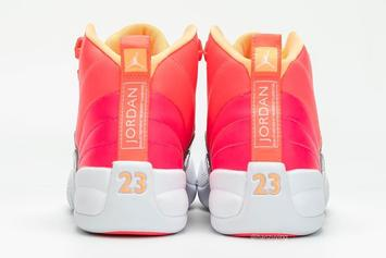 """Air Jordan 12 """"Hot Punch"""" On Tap For October Release: New Images"""