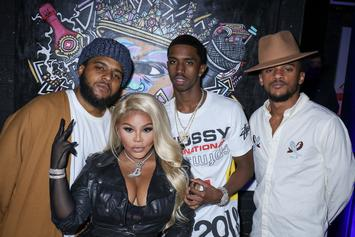 Lil Kim, Rick Ross, Faith Evans & More Attend Biggie Inspires Art Exhibit