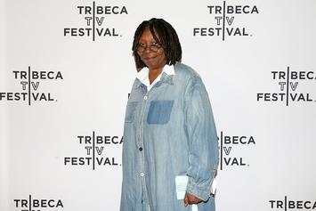 Whoopi Goldberg Switches Up Her Style & Rocks White Locs For Stephen King Flick