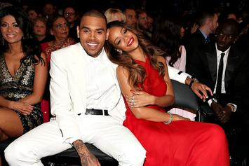 Chris Brown Photoshops His Face In Rihanna's Lingerie Picture