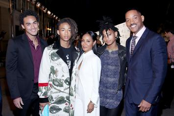"""The Smith Family Reconvenes For """"Red Table Talk"""" After Will Calls Emergency Meeting"""