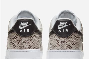 """Nike Air Force 1 Low """"Snakeskin"""" Coming Soon: Official Images"""