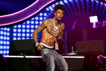 Blueface Trolls Himself After Questionable Strip Club Antics