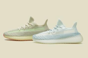 """Enter To Win Adidas Yeezy Boost 350 V2 """"Cloud White"""" & """"Citrin"""" Colorways"""