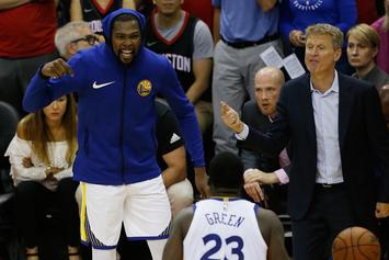 Steve Kerr Answers Whether Or Not KD & Draymond Green Beef Hurt Warriors