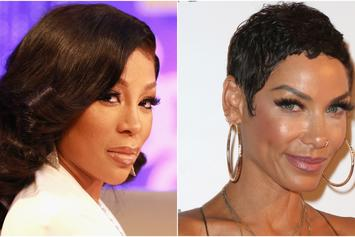 """K. Michelle Drags Nicole Murphy For Antoine Fuqua Kiss: """"You're Disgusting"""""""