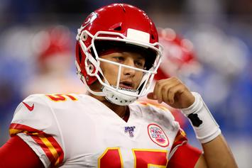 Patrick Mahomes Delivers Epic Speech Prior To Game-Winning Drive: Watch