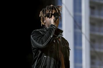 Juice WRLD Shotguns Weed Smoke Into His Girlfriend's Mouth: Watch