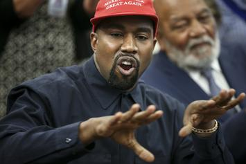 """Kanye West Reminds Sunday Service Attendees That Republicans """"Freed The Slaves"""""""