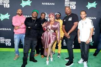 Lil Kim Reunites With Junior M.A.F.I.A. For BET Hip Hop Awards Freestyle Promo