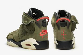 Travis Scott x Air Jordan 6 Footaction Locations Revealed: Official Photos