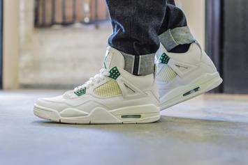 "Air Jordan 4 ""Pine Green"" Rumored To Release Next Year: Details"
